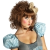 Cutie Doll Brown Adult Wig